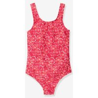 1-piece Swimsuit For Girls Red Medium All Over Printed
