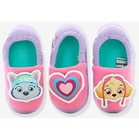Elasticated PAW Patrol ® Slippers for Girls purple light solid with design