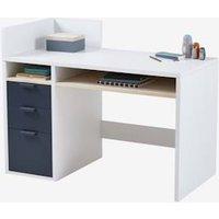 Junior Desk, REGLISSE Collection white light two color/multicol