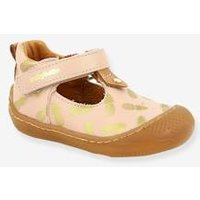 Leather Shoes, Sandy by Babybotte®, for Baby Girls pink light all over printed