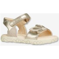 Sandals for Girls, Kilwi Girl A by GEOX ® beige light metalised