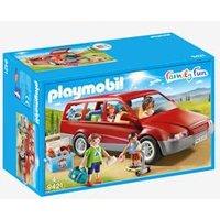 9421 Family Car, Playmobil red medium solid