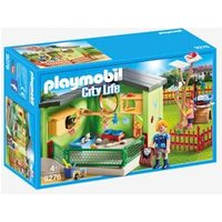 9276 Purrfect Stay Cat Boarding, Playmobil green medium solid