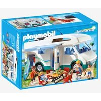 6671 Summer Camper Van, by Playmobil white medium solid with design
