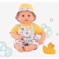 Baby Bath Doll TropiCorolle yellow medium solid wth design