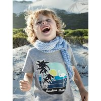 Printed T-Shirt for Boys grey light mixed color