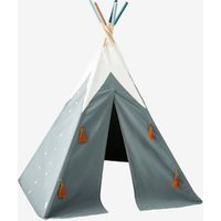 Everest Teepee green dark solid with design