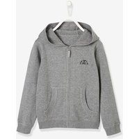 Hooded Jacket for Boys grey medium mixed color