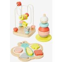 3er-Set Spielzeuge für Kleinkinder von vertbaudet