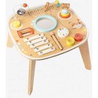 Baby-Spieltisch mit Musikinstrumenten natur/mehrfarbig von vertbaudet