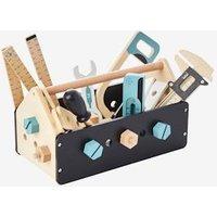 Spiel-Werkzeugkasten für Kinder, Holz von vertbaudet