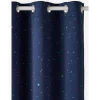 Verdunkelungsvorhang mit Leuchtmotiven blau Gr. 135x260 von vertbaudet