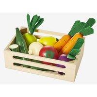 Gemüsekiste aus Holz für Kinder von vertbaudet