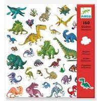 "160 Sticker ""Dinosaurier"" DJECO grün"