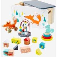 Holzspielzeug-Set mit Fuchs von vertbaudet