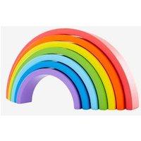 Regenbogen-Puzzle aus Holz für Kinder von vertbaudet