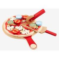 Pizza-Set für Kinder, Holz von vertbaudet