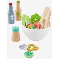Salat-Set für die Spielküche, Holz von vertbaudet