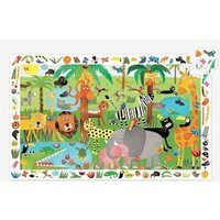 Entdeckerpuzzle ,,Dschungel