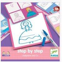 Step by step-Malset ,,Josephine