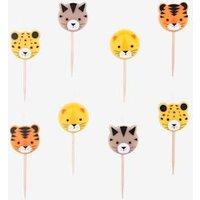 Geburtstagskerzen-Set MY LITTLE DAY mini raubkatzen