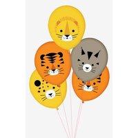 5 Luftballons MY LITTLE DAY Kindergeburtstag mini raubkatzen