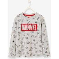 Camiseta de manga larga para niño Los Vengadores Marvel® gris claro estampado
