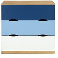 Ladybird Harley Kids Chest of 3 Drawers, Pink