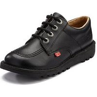 Kickers Kick Lo Core Shoes, Black, Size 1