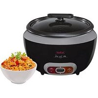 Tefal Rk1568Uk Cool Touch Rice Cooker - Black