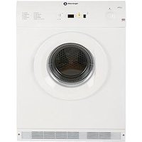 White Knight C86A7W 7Kg Load Vented Sensor Tumble Dryer - White