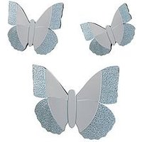 Butterfly Mirrors (3 Pack)