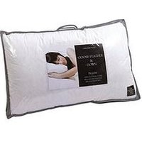 Cascade Home All Natural Goose Feather And Down Pillows (Pair)