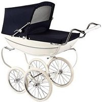 Silver Cross Oberon Dolls Pram - White