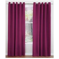 Lunar Thermal Eyelet Curtains