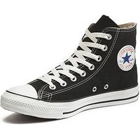 Converse Chuck Taylor All Star Hi-Tops , Black, Size 10, Women