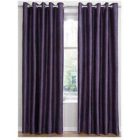 Waterfall Textured Eyelet Curtains