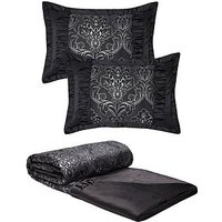 Buckingham Bedspread Throw And Pillow Shams