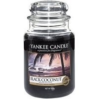 Product photograph showing Yankee Candle Large Jar - Black Coconut