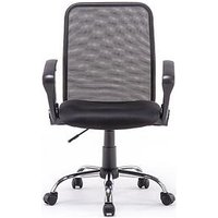 Product photograph showing Mesh Office Chair With Arms