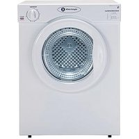 White Knight C37Aw 3Kg Load Compact Vented Dryer - White