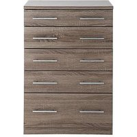 Cologne Wide Chest Of 5 Drawers