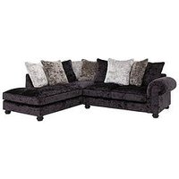 Laurence Llewelyn-Bowen Scarpa Fabric Scatter Back Left Hand Corner Chaise Sofa