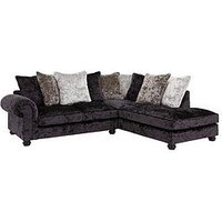 Laurence Llewelyn-Bowen Scarpa Fabric Scatter Back Right Hand Corner Chaise Sofa