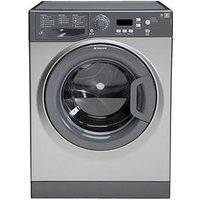 Hotpoint Extra Wmxtf742G 1400 Spin, 7Kg Load Washing Machine - Graphite