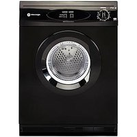 White Knight C44A7B 7Kg Load Vented Dryer - Black