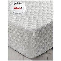 Product photograph showing Silentnight 7 Zone Memory Foam Rolled Mattress - Medium Firm