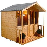Forest 7 X 7Ft Maplehurst Summerhouse