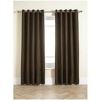 Waffle Eyelet Lined Curtains