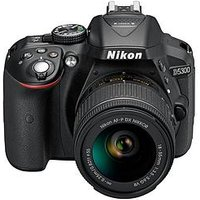 Nikon D5300 24.2 Megapixel Digital Slr Camera With 18-55Mm Lens, Save &Pound;50 With Voucher Code Lxjxd
